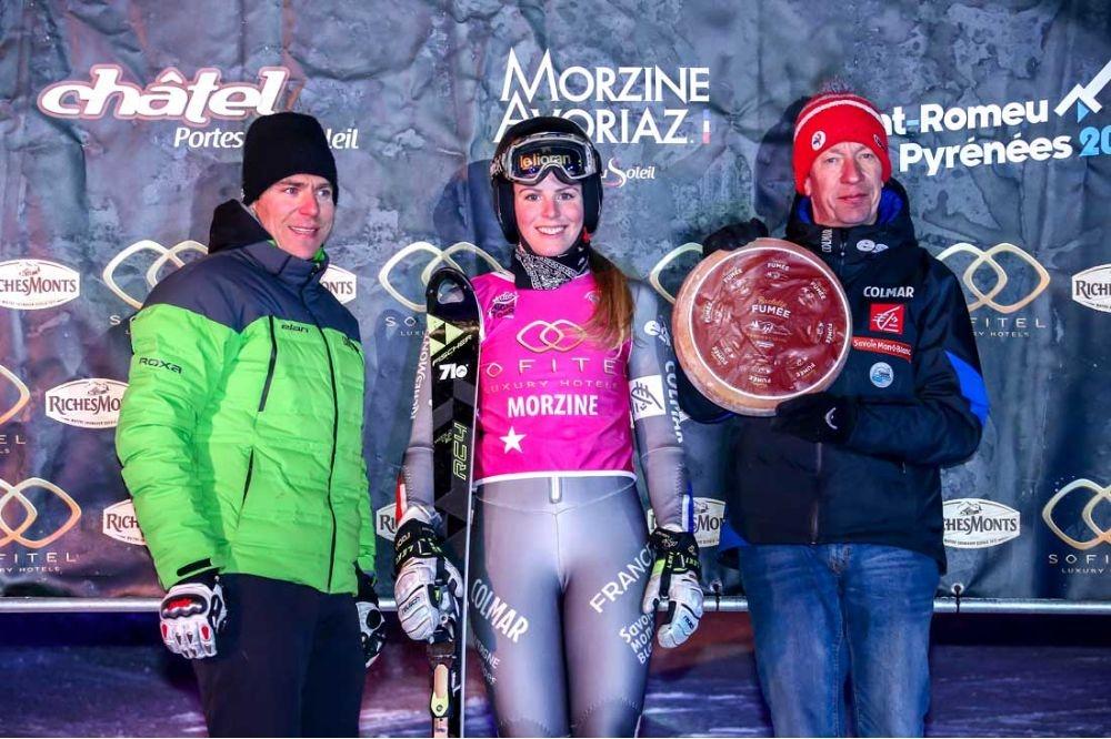 Coup double pour Ninon Esposito à Morzine !