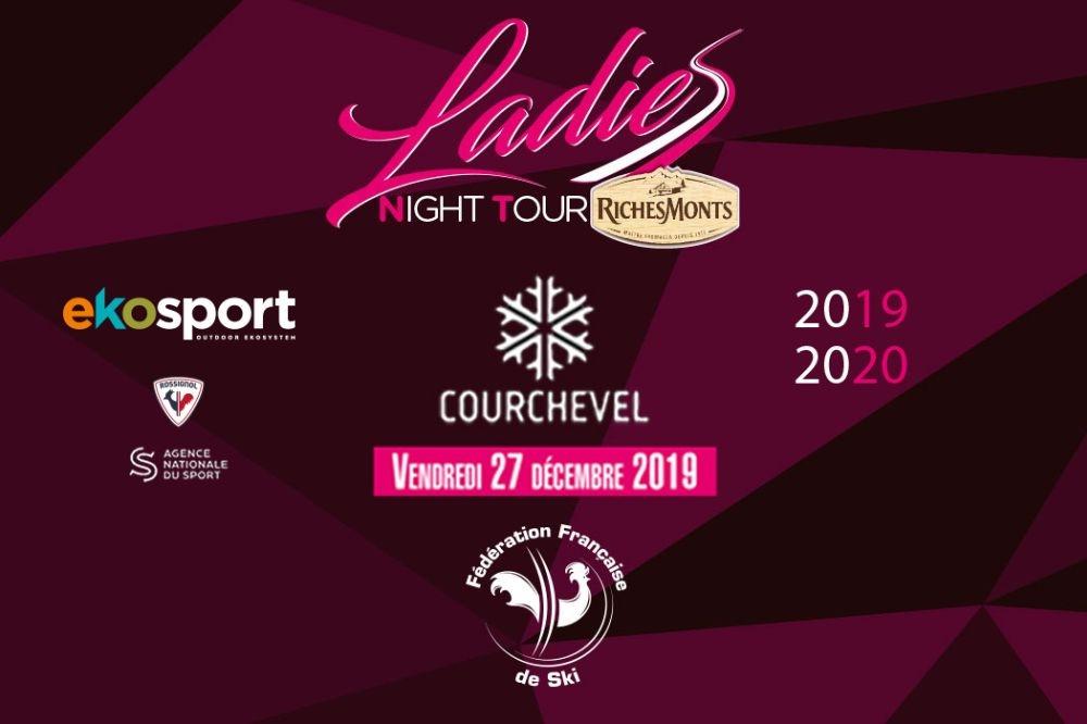 Première étape du Ladies Night Tour ce Vendredi à Courchevel
